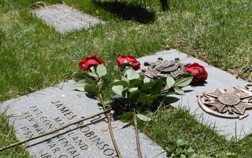 African-American Revolutionary War hero's legacy of diversity honored at Detroit gravestone dedication
