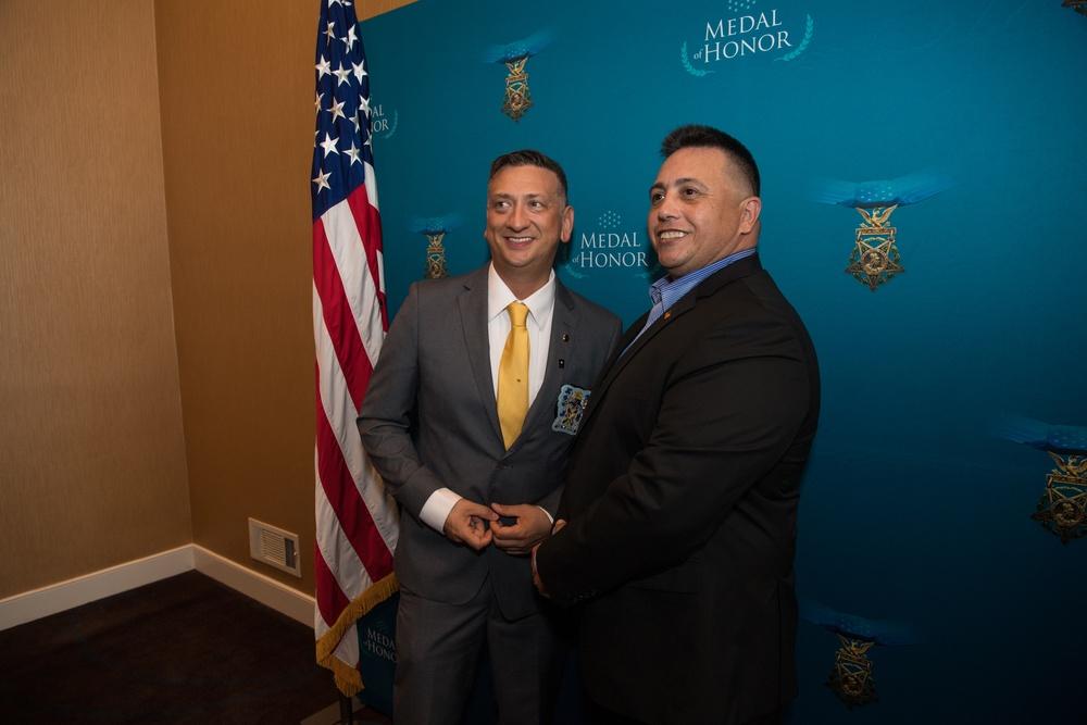Staff Sgt. David Bellavia MOH Reception