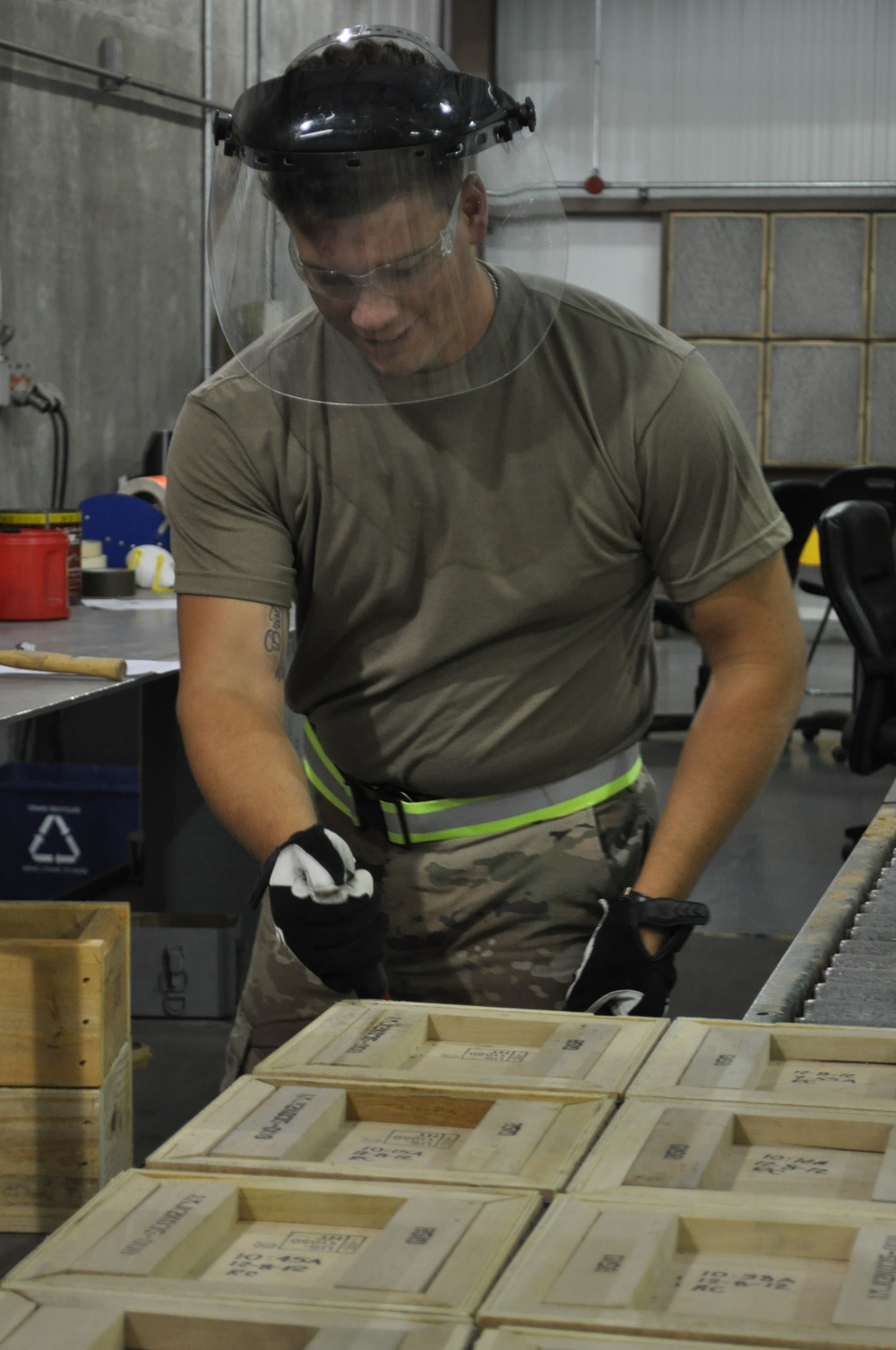 Ordnance Soldiers gain real-world skills with Crane Army Depot Operations