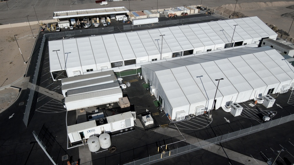 Construction of temporary facility in Yuma, AZ has been completed.
