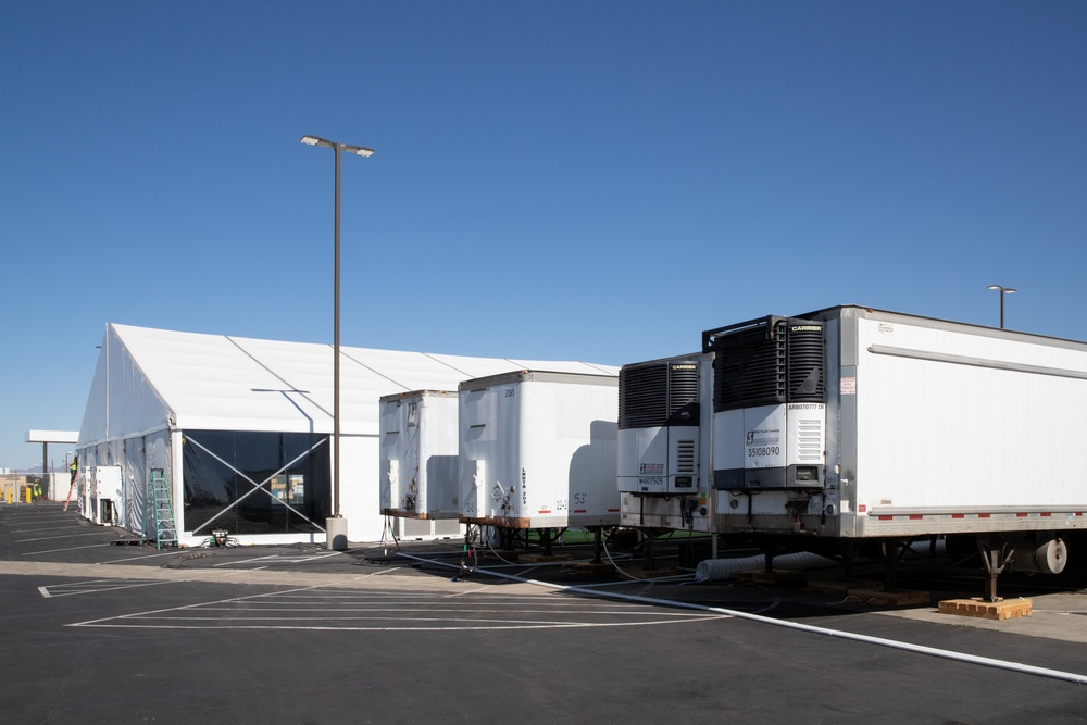 Construction of temporary facility in Yuma, Ariz has been completed.