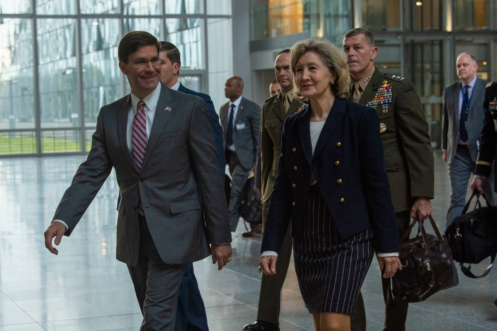 Acting Secretary of Defense Attends NATO Ministerial