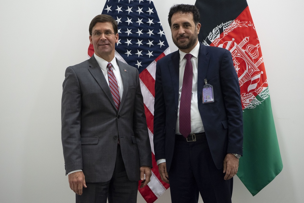 Acting Secretary of Defense Meets Afghan Defense Minister