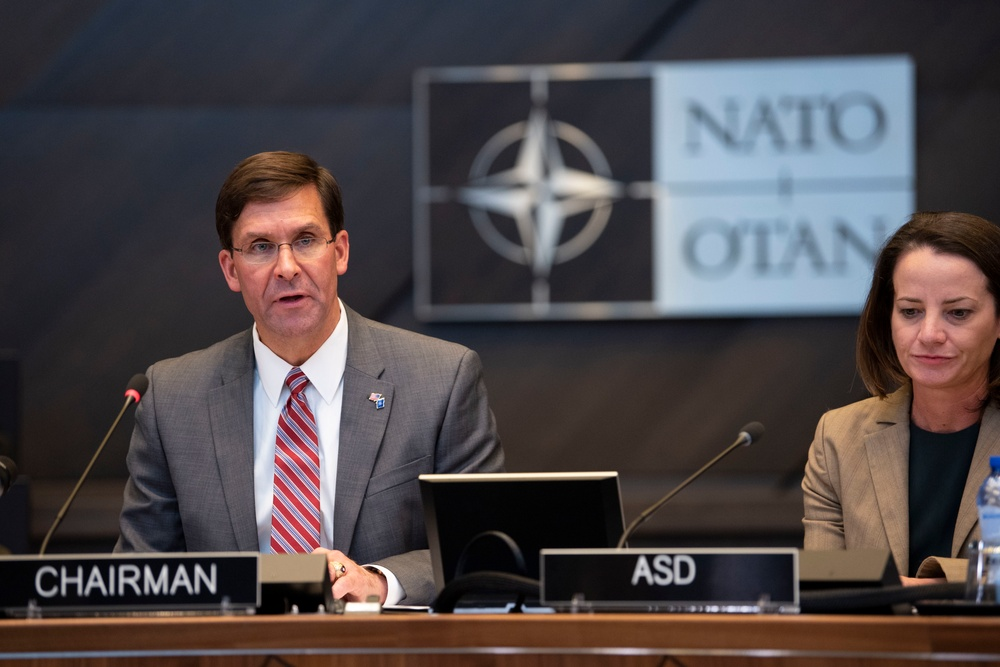 Acting Secretary of Defense Chairs NATO Meeting on ISIS