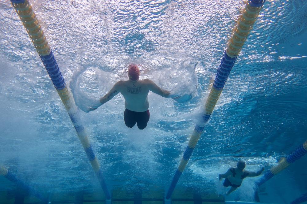 Wounded Warriors Unique Swim Technique
