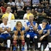 Warriors compete in Sitting Volleyball Finals