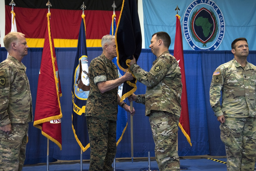 Special Operations Command Africa receives new commander