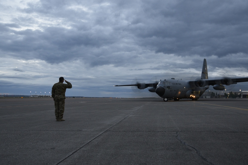 Montana Air National Guard Airmen, C-130s to support Southwest Asia airlift operations