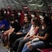 Scouts get close look at air refueling mission