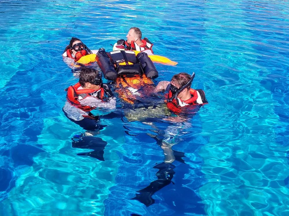 Dive Medicine and Rescue Course Skedco Evacuation