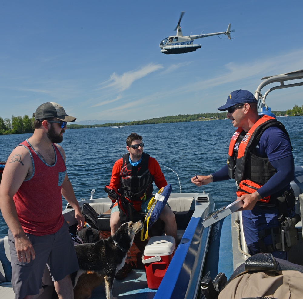 Coast Guard, state and local authorities conduct Operation Dry Water throughout Alaska