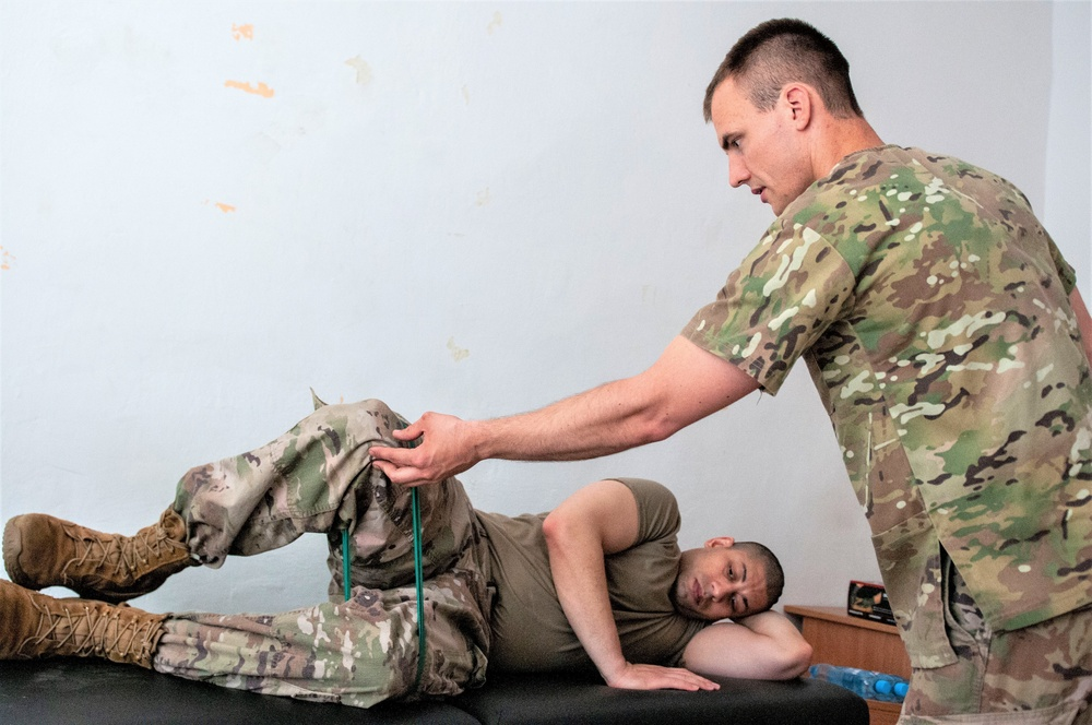 Charlie Company helps keep 1ABCT ready by conducting medical rodeos in Europe