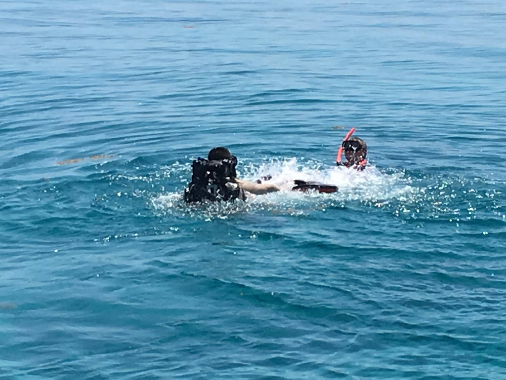 Panicked in the Open Water