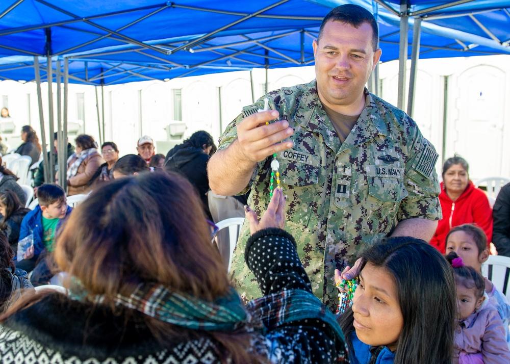 USNS Comfort Provides Medical Care in Callao, Peru