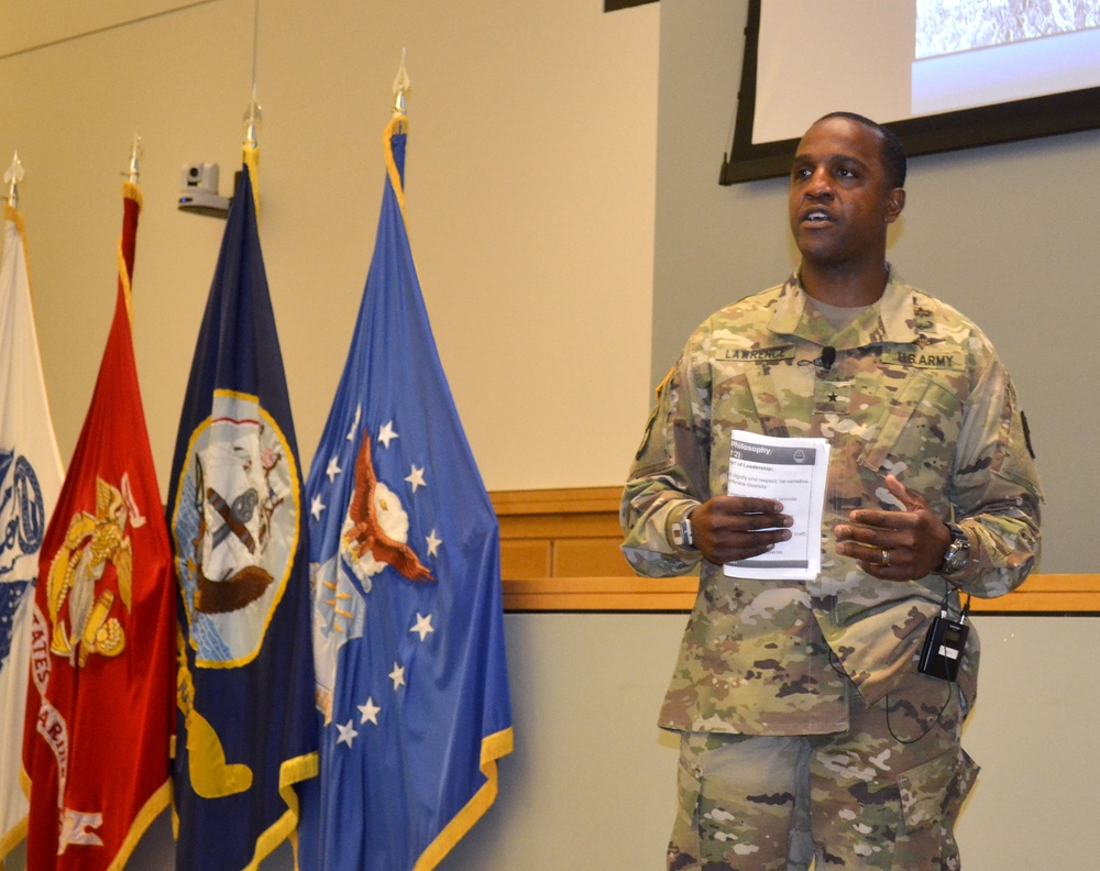 New Troop Support commander 'delighted' to be back in Philadelphia