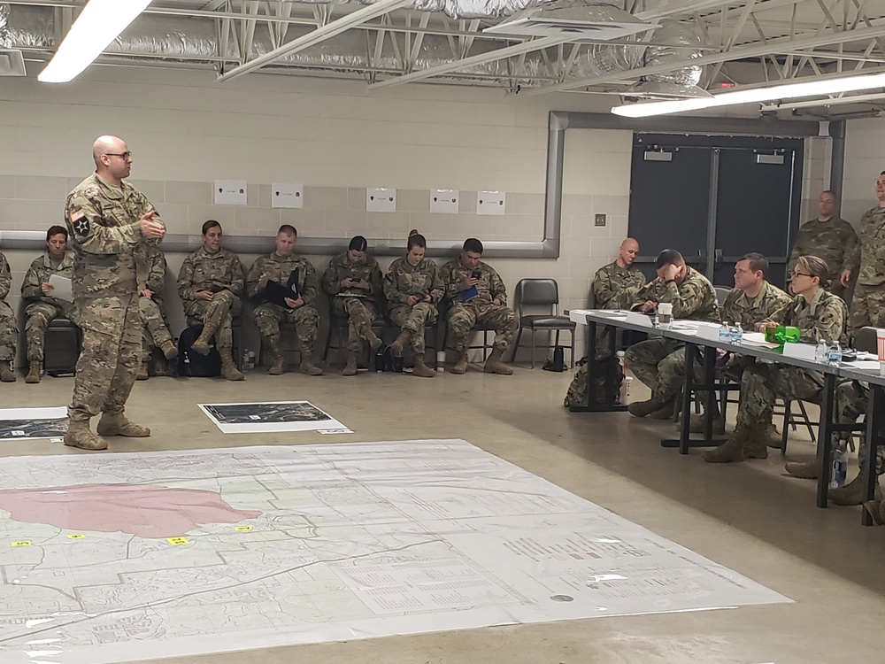 "Guard military intelligence brigades ""double-down"" in preparation for Talon Strike 2019"