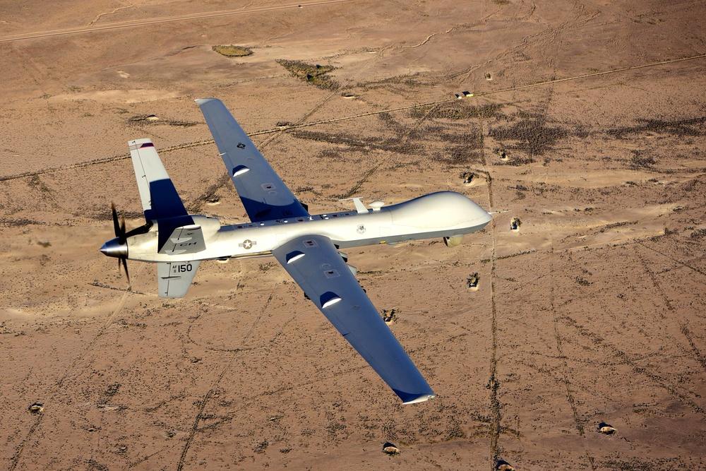 MQ-9 Reaper in flight