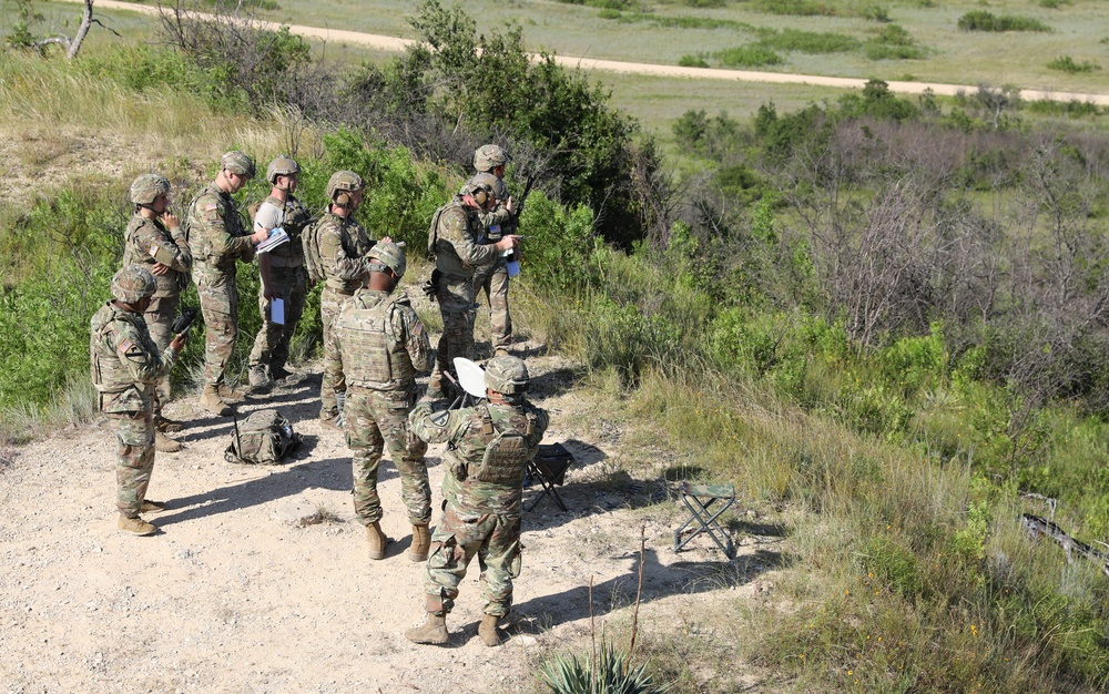Fort Hood units conduct joint fires control exercise