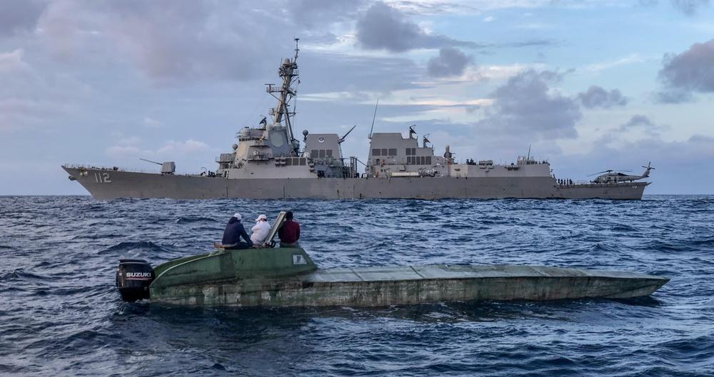 USS Michael Murphy Supports Maritime Interdiction Operations