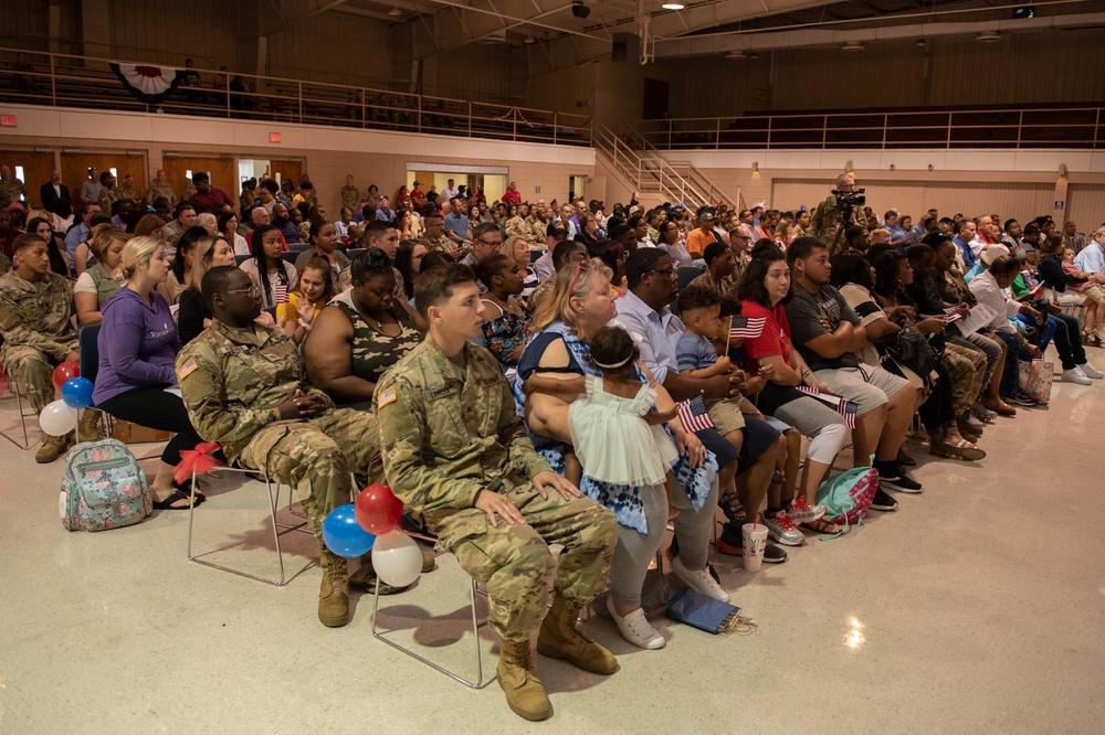 Plaquemine National Guard unit deploys to Iraq