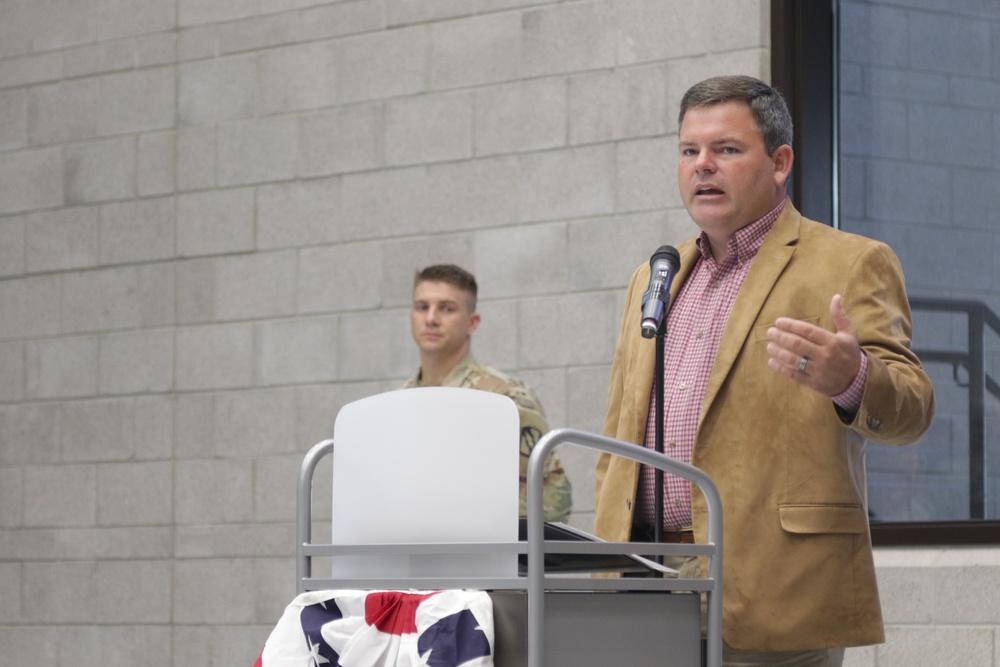 Mayor Praises New Readiness Center