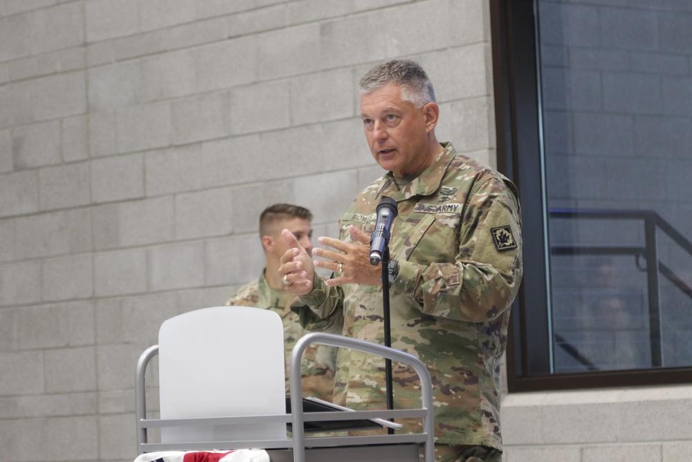 Adjutant General Praises Community