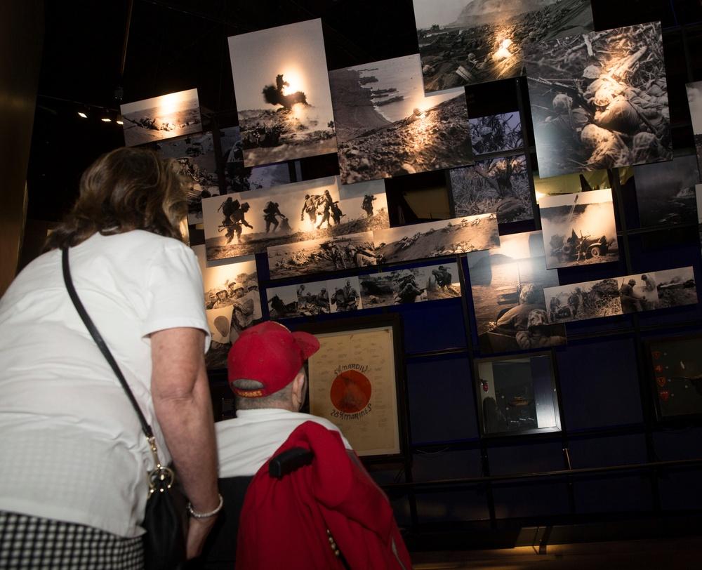 IWO JIMA VETERAN CELEBRATES 99TH BIRTHDAY AT NATIONAL MUSEUM OF THE MARINE CORPS