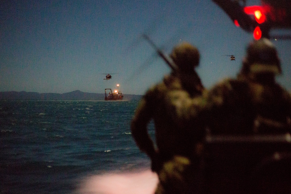 U.S. and Australian Special Operations Forces (SOF) in Talisman Saber 2019