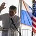 USNS Comfort Colon, Panama opening ceremony