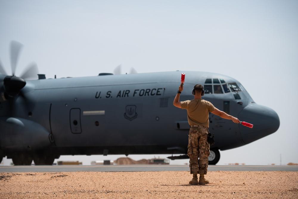 Limited VFR operations begin at Nigerien Air Base 201