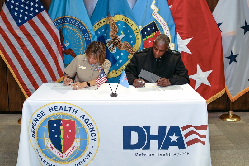 DLA, DHA agree on joint military health care support