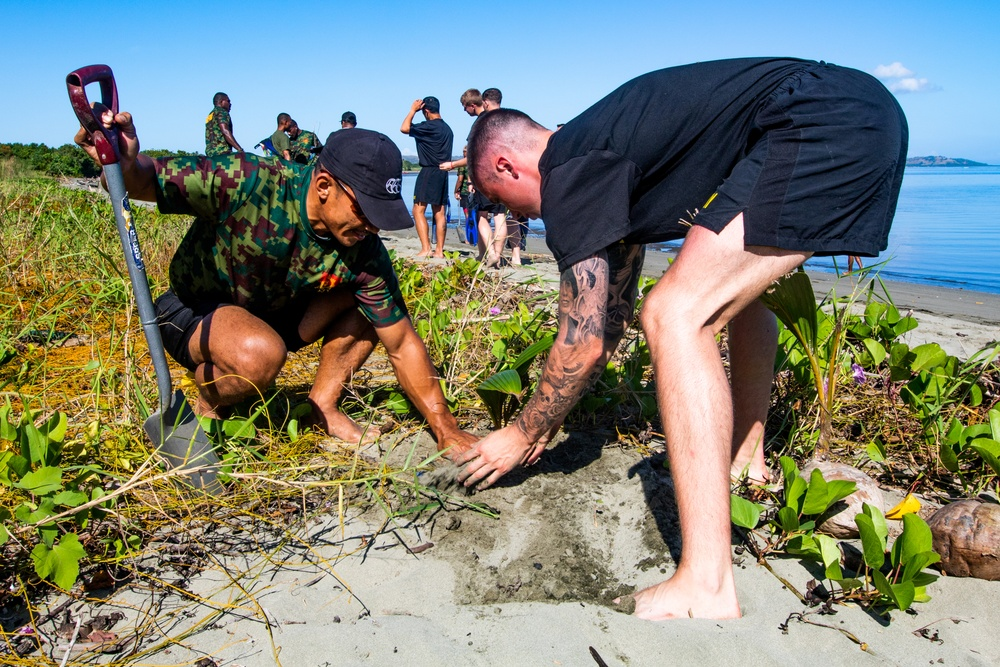 Exercise Cartwheel 2019 reef and coastal revitalization project