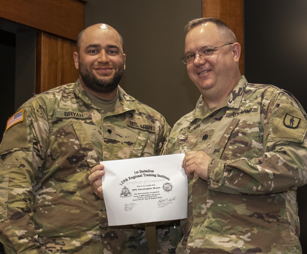 Soldiers graduate from Motor Transport Operator course