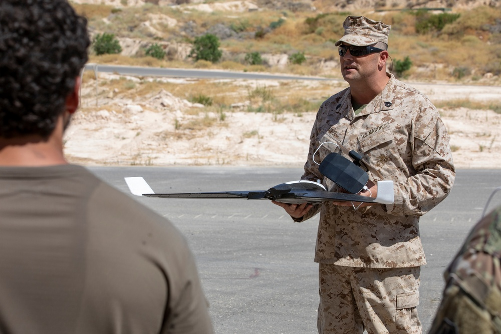 Unmanned Aircraft Systems Training During Eager Lion 19