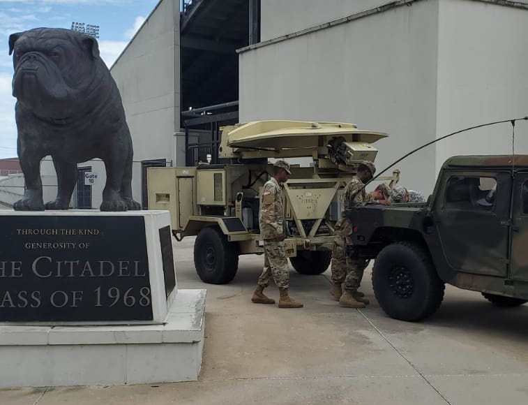 South Carolina National Guard prepares to respond to Hurricane Dorian's impact to state