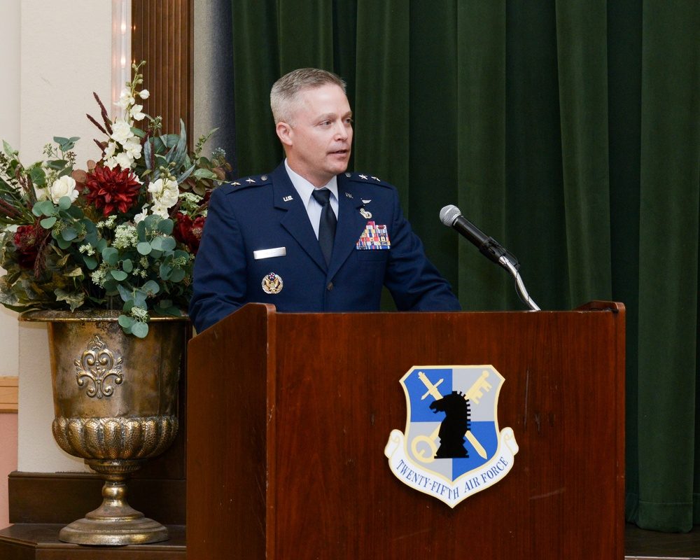 Haugh takes command of Twenty-Fifth Air Force
