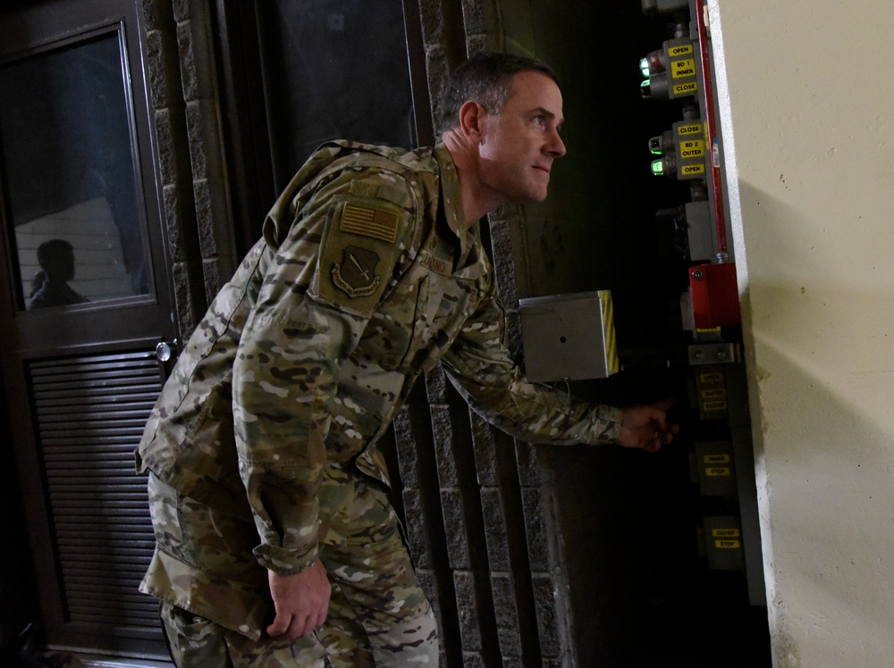 """Col. Falzarano's """"TDY for a day"""": SFS edition"""
