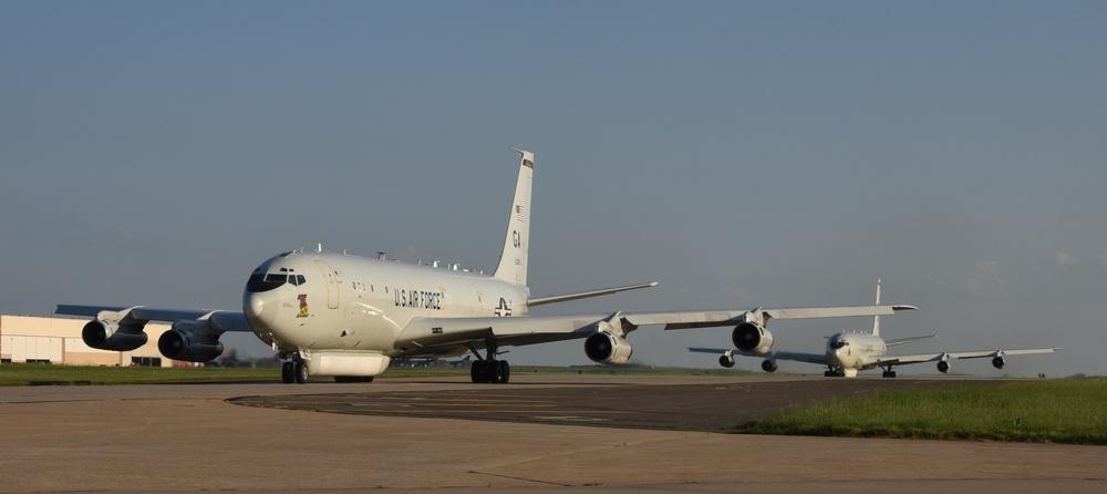 Team Tinker provides refuge for aircraft evacuating Hurricane Dorian