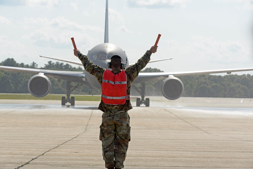 KANZA warriors deliver first KC-46 to Pease