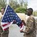 Camp Simba conducts inaugural flag ceremony