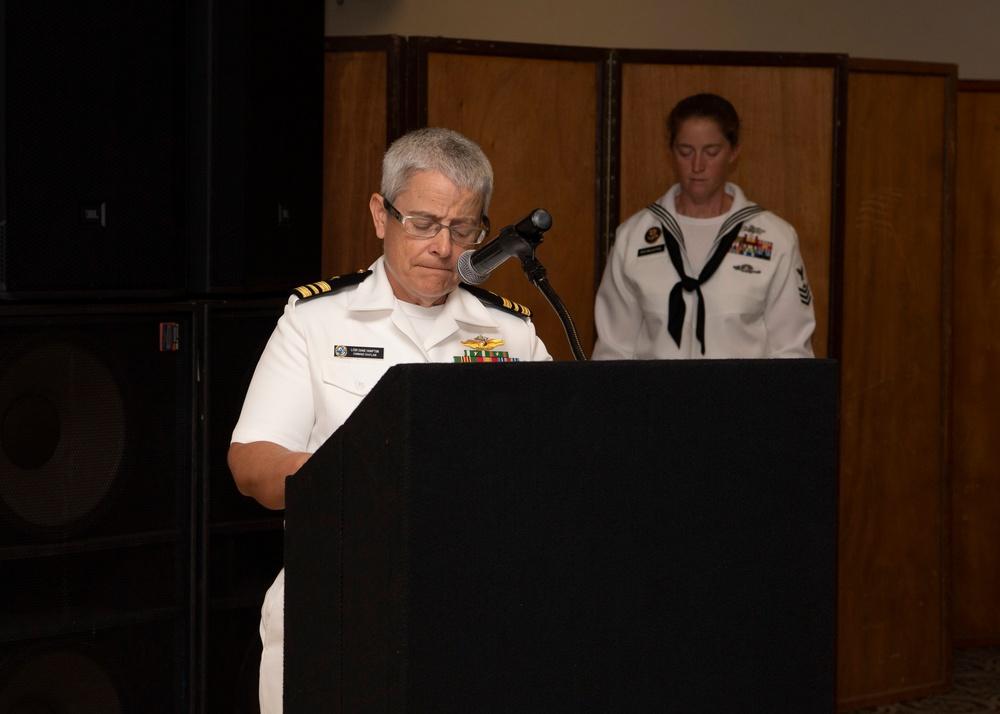 NSF Diego Garcia 9/11 Remembrance Ceremony