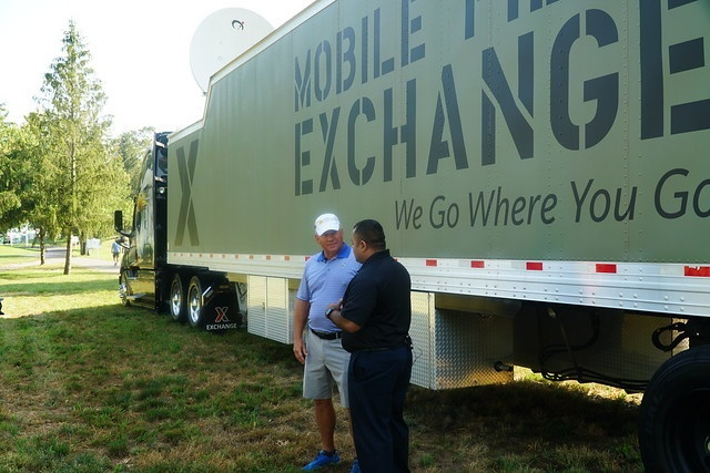 Exchange Raises Awareness for Army Emergency Relief at a Military Tribute at the Greenbrier