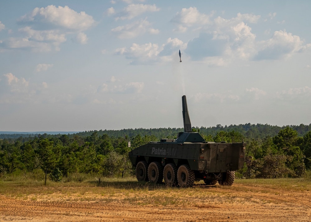 120mm Mortar Turret Demonstration