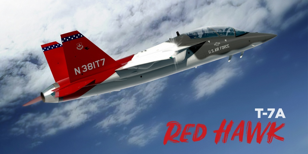 """ASECAF announces the T- 7A """"Red Hawk"""" during the Air, Space and Cyber Conference"""