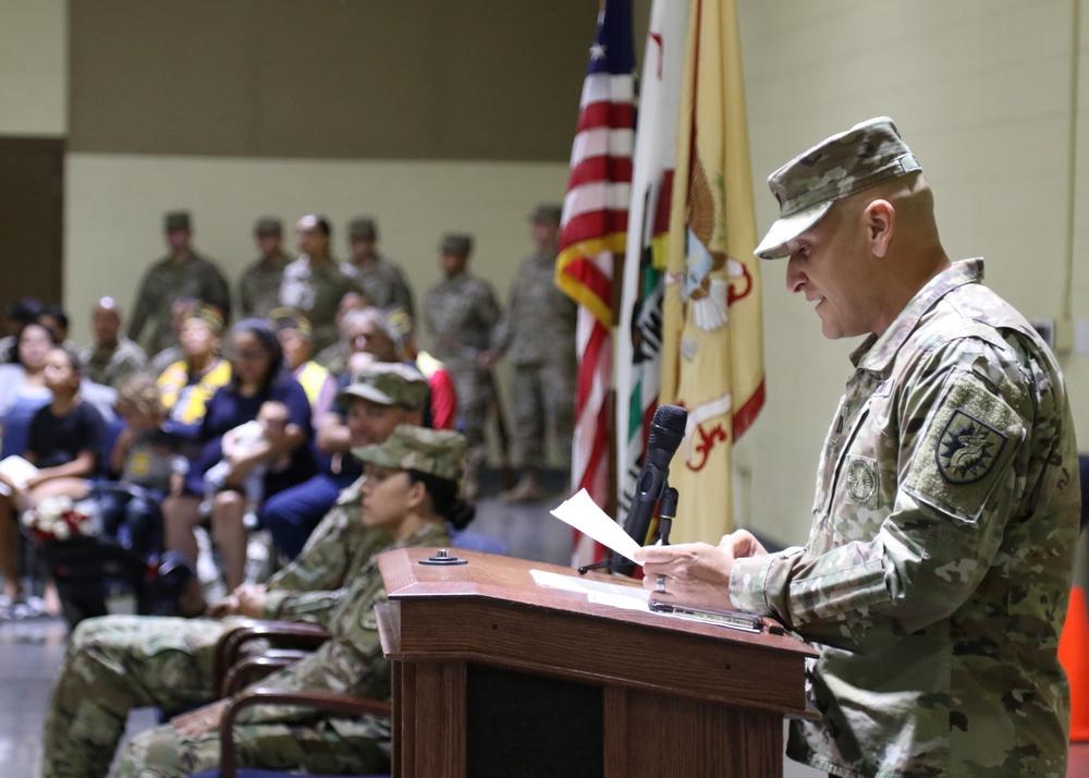 1498th TC Inactivation Ceremony