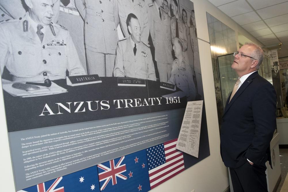 Secretary Esper Hosts Australian Prime Minister