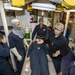 USS Normandy Sailor Gives Medical Training