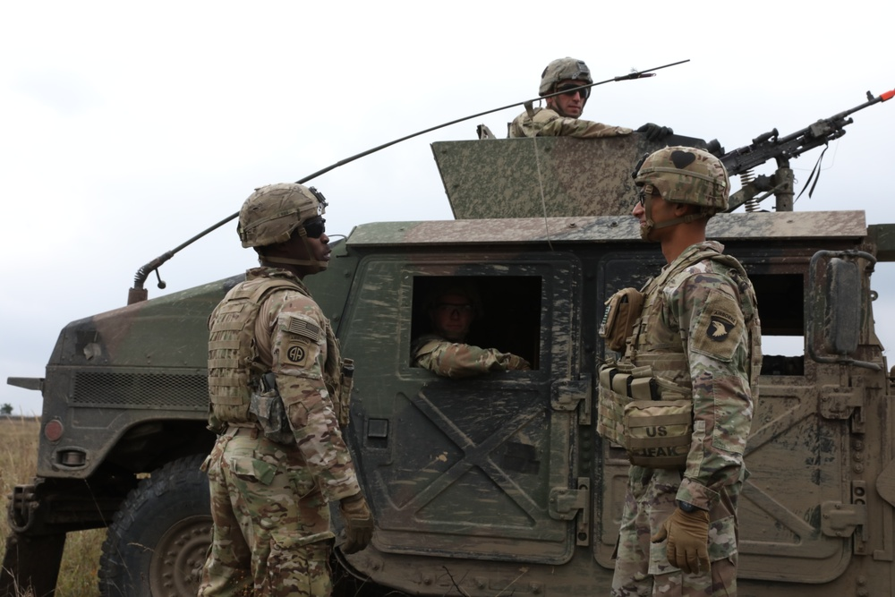 U.S. and Ukraine demonstrate lethality during largest U.S./Ukrainian vehicle live fire rehearsal