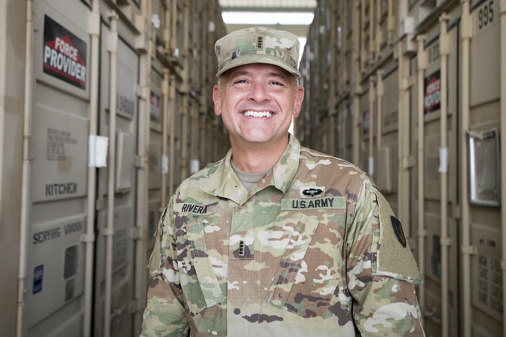 Chief runs supply at APS-5 in Qatar