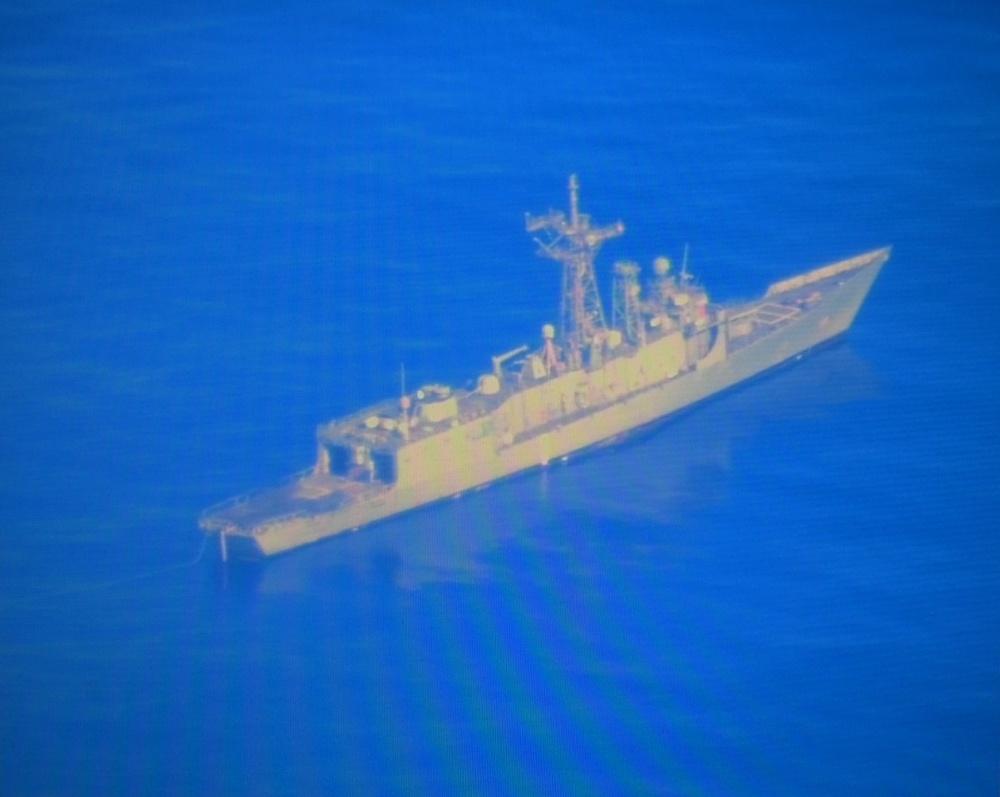 USS Ford Sinkex